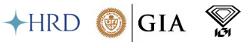 HRD, GIA, IGI labs logo